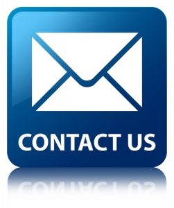 contact us glossy blue reflected square button - Contact Commonwealth Radiology