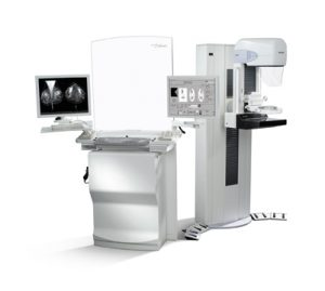 Picture of mammography unit