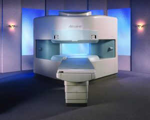 Image of open MRI unit